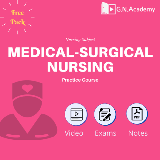 Medical & Surgical Nursing (Free Pack)